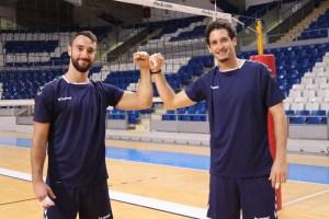 Chema Giménez y Ignacio Sánchez, los dos primeros fichajes en incorporarse al Feníe Energía Mallorca Voley Palma (1)
