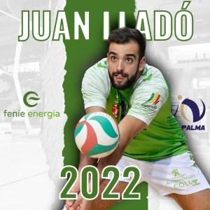 Juan Lladó renueva conb el Feníe Energía Mallorca Voley Palma