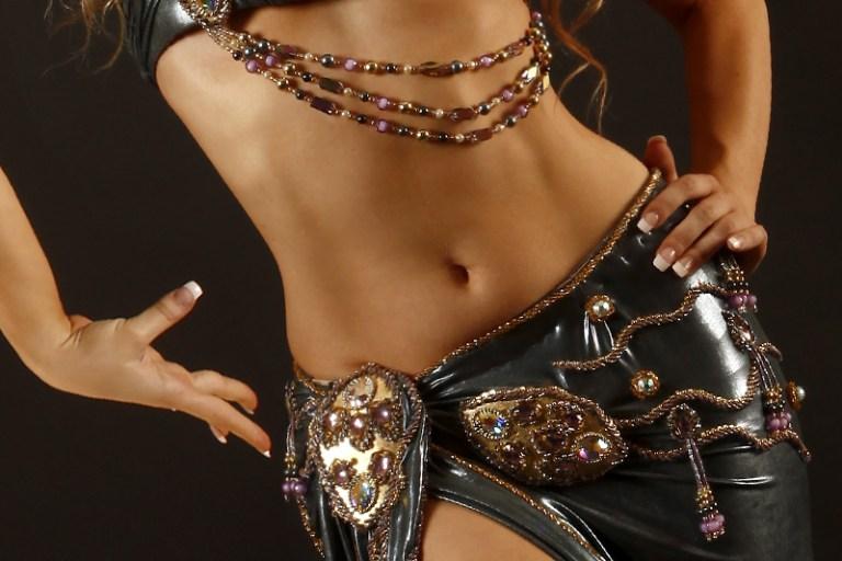 reducir cintura practicando danza del vientre