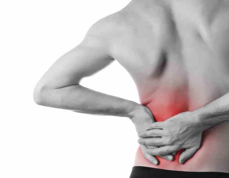 dolor de espalda después de correr