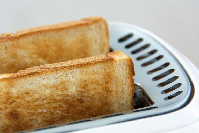 tostada acrilamida