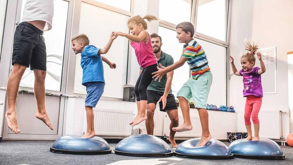 importancia de los ejercicios para niños