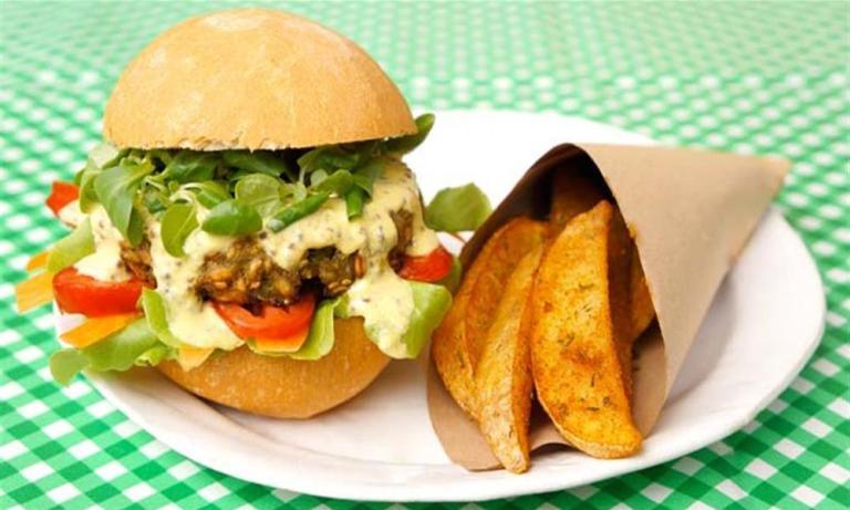 Recetas de hamburguesas vegetarianas