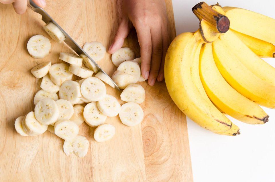 Bananas  o plátanos para desayunar
