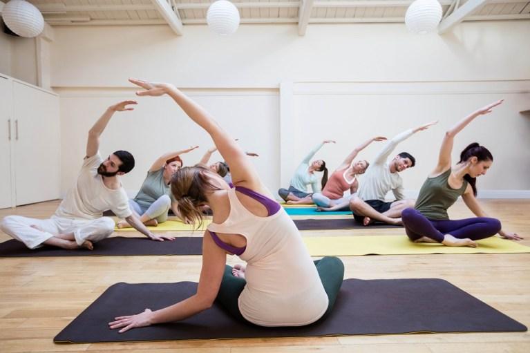 Hay centros para practicar yoga en Barcelona