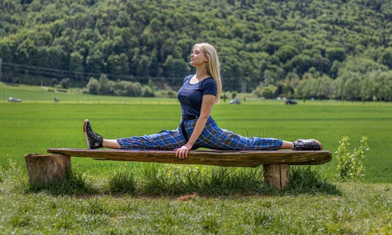 Descubre cuáles son algunos de los beneficios del split o apertura de piernas