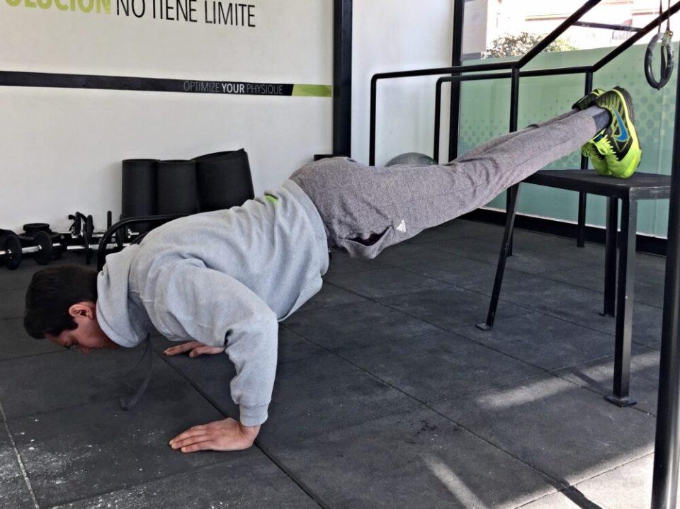ejercicios con peso corporal para brazos