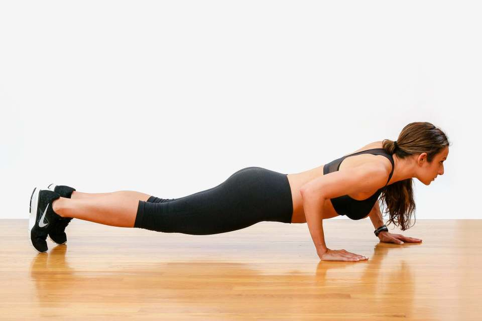 ejercicios con peso corporal para pecho