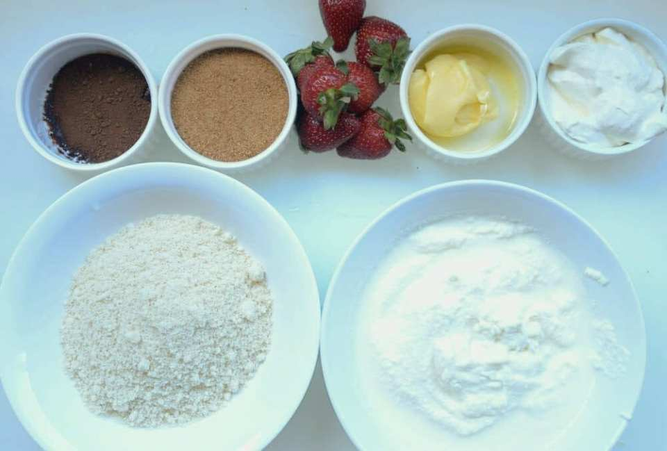 ingredientes de tarta de queso fitness