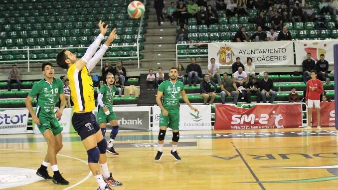 Alejandro Sánchez Rebollo en el septeto ideal de la décima jornada de la Superliga2 de Voleibol