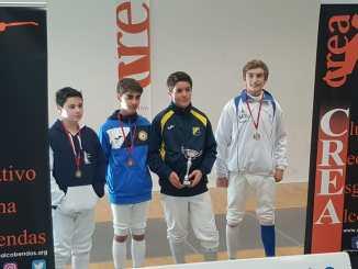Medalla de Plata para Raúl García Muñoz en la segunda fase del campeonato de esgrima sub-14