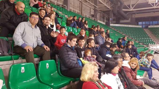 El Extremadura CCPH y Palencia jugarán en la pista auxiliar del multiusos