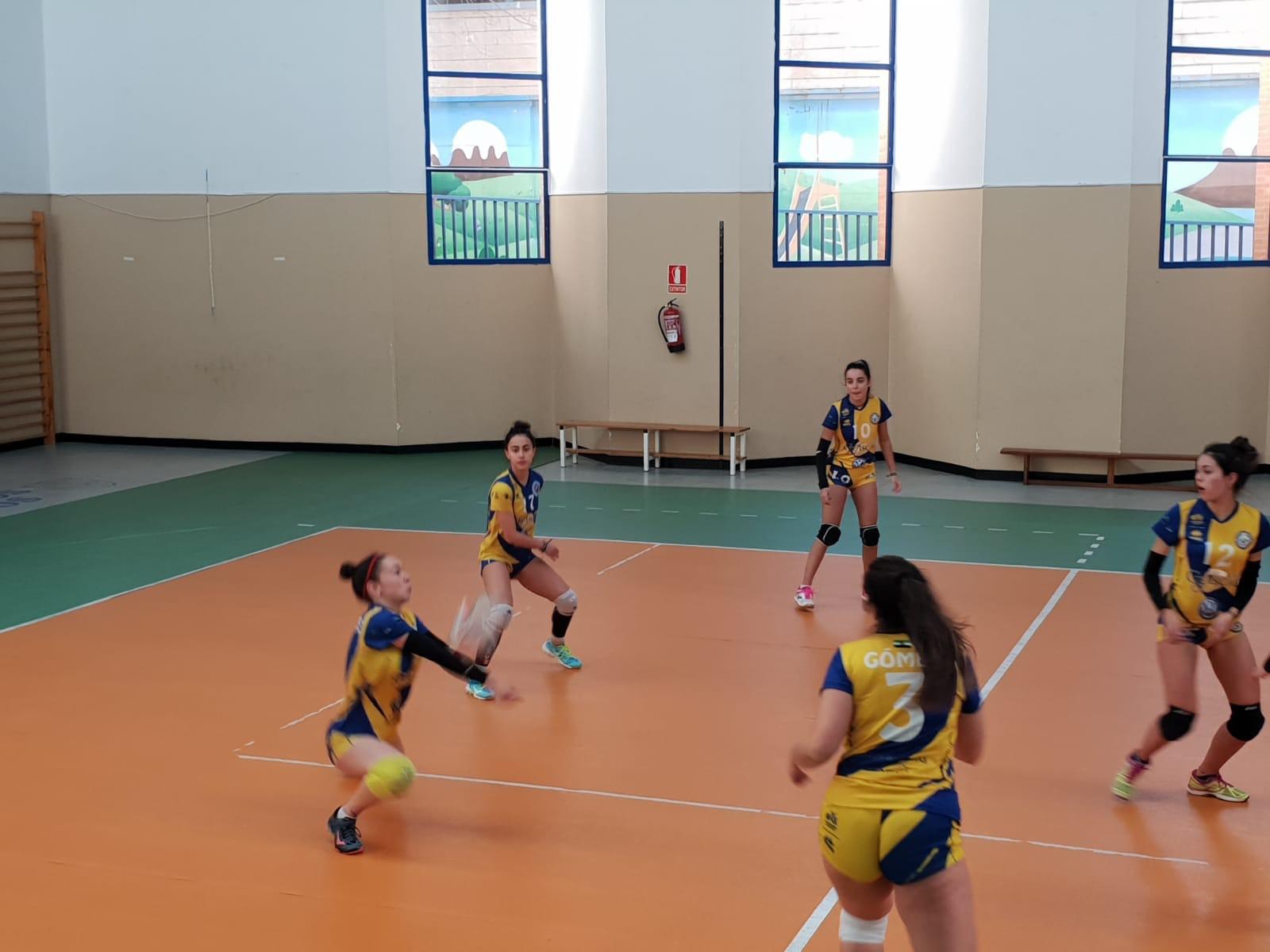 Dura jornada de los equipos del CP Licenciados Reunidos en Arroyo, Brozas y Cáceres