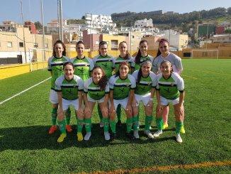 El femenino Cáceres resuelve el partido fácilmente contra el Luis de Camõens por 0 a 6