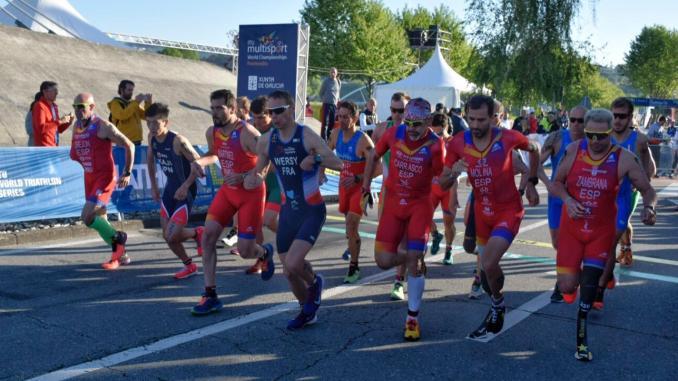 Kini Carrasco bronce en el Campeonato del Mundo de Duatlón