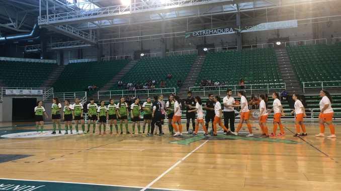 El Femenino Cáceres de Fútbol Sala gana el partido de ida de la fase de ascenso a Segunda División Nacional