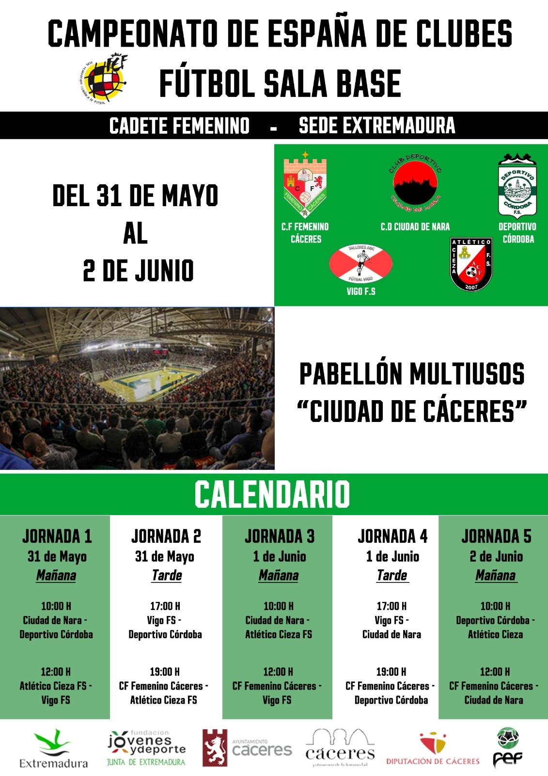 convocatoria de Rueda de prensa de CF Femenino Cáceres