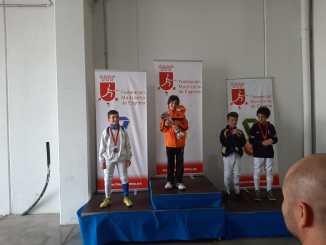 Medalla se Plata Esgrima Torneo de Madrid para Marcos García
