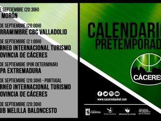 El Cáceres anuncia el calendario de amistosos para esta pretemporada 2019