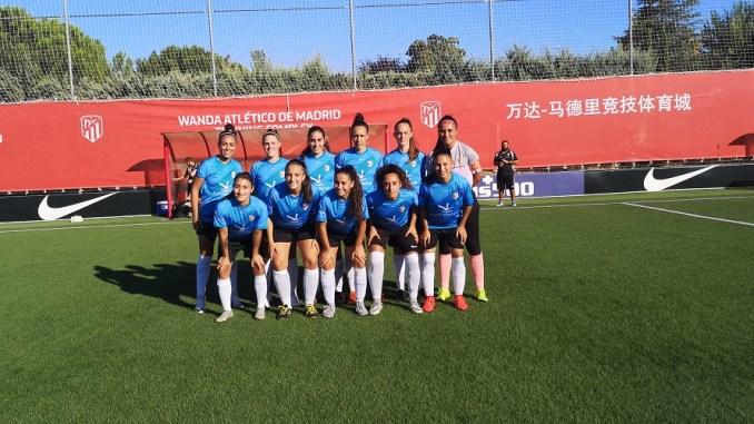 Derrota del C.F. Femenino Cáceres ante el filial del Atlético de Madrid Femenino
