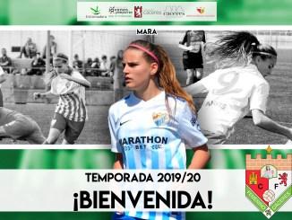 Mara Jiménez regresa al CF Femenino Cáceres
