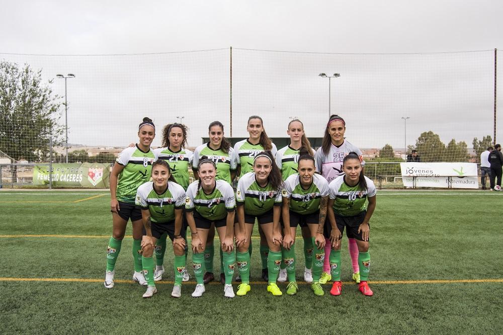 Victoria del C.F. Femenino Cáceres en la tercera jornada de la Liga Reto Iberdrola ante el U.D Tacuense