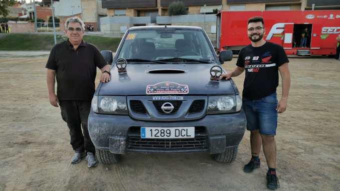Amaya se lleva el triunfo en el Rally TT Villa de Zuera