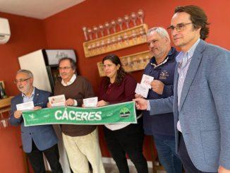 El Cáceres y Fundación Valhondo presentan una nueva iniciativa solidaria
