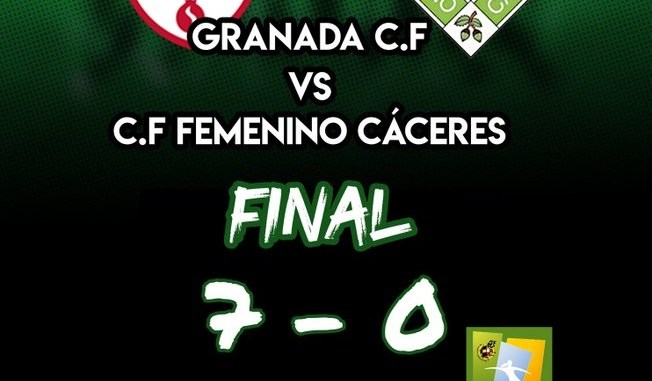 Final Granada vs Femenino Caceres