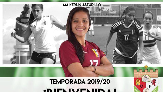 Maikerlin Astudillo, nueva jugadora del CF Femenino Cáceres