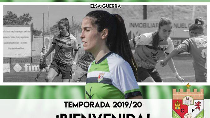 Elsa Guerra vuelve al Femenino Cáceres para lo que resta de temporada