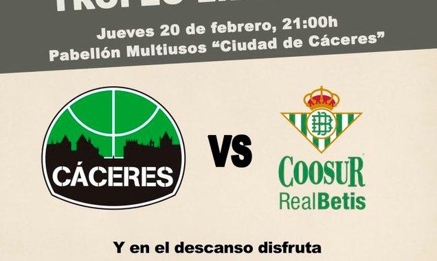 El Cáceres anuncia la visita del Real Betis para el I Trofeo Liberbank