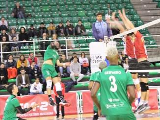 El Club Voleibol Bruxas y el Extremadura Cáceres Patrimonio de la Humanidad juegan hoy su partido aplazado