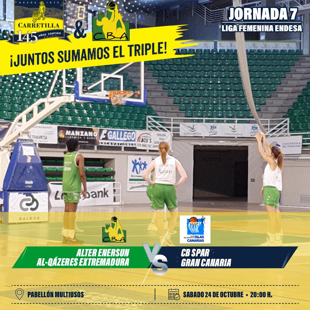 Alter Enersun Al-Qázeres Extremadura estrenará mañana su segunda equipación ante el Spar Gran Canaria