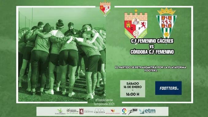 Previa C.F. Femenino Cáceres – Córdoba C.F.