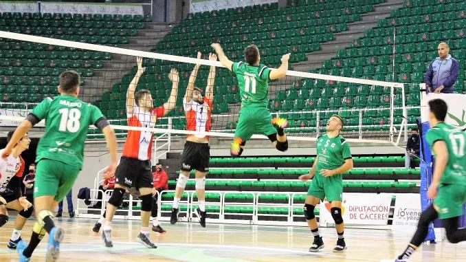Intenso fin de semana para el Extremadura Cáceres Patrimonio de la Humanidad Voleibol