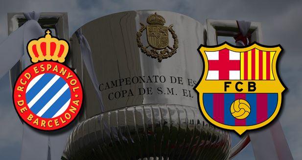 Eliminatoria cuartos final copa del rey barcelona vs espanyol jueves 25 enero 2018