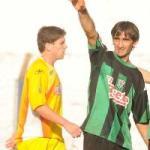 Ernesto Espíndola anotó dos goles para El Brete (Foto El Territorio)