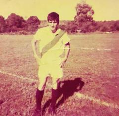 Gerónimo Garay, ex delantero y goleador de Guaraní Antonio Franco