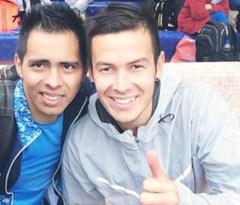 Jonathan Avellaneda y Luis Ortiz dejaron de manifiesto sus cualidades en Buenos Aires. Ambos se subieron al podio en sus respectivas pruebas y categorías (Foto Primera Edición)