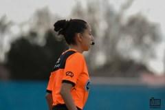 Yenni Ortiz debutó como árbitro en AFA