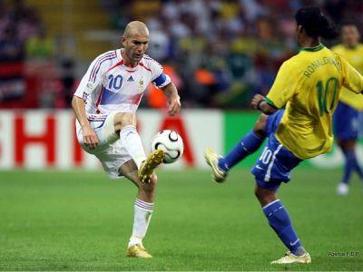 Zinedine Zidane en el Mundial de fútbol de Alemania 2006