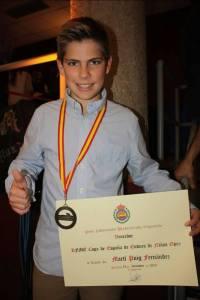 Marti Puig - Piloto.Campeón de España de la Copa Enduro niños cat Open (2013).Puesto 12º en el Campeonato del Mundo de MX Masterkids (2009).En la actualidad va 2º en la general española