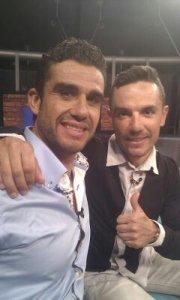 Con Purito Rodríguez en TV3