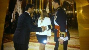 Invitado el día de la coronación del Rey Felipe VI