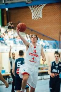 Mark Barauosel - Jugador Selección Española Basket Junior