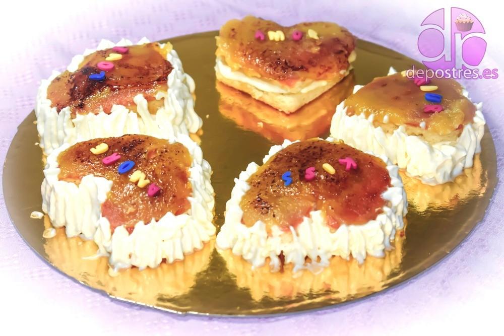 mini tartitas conjunto