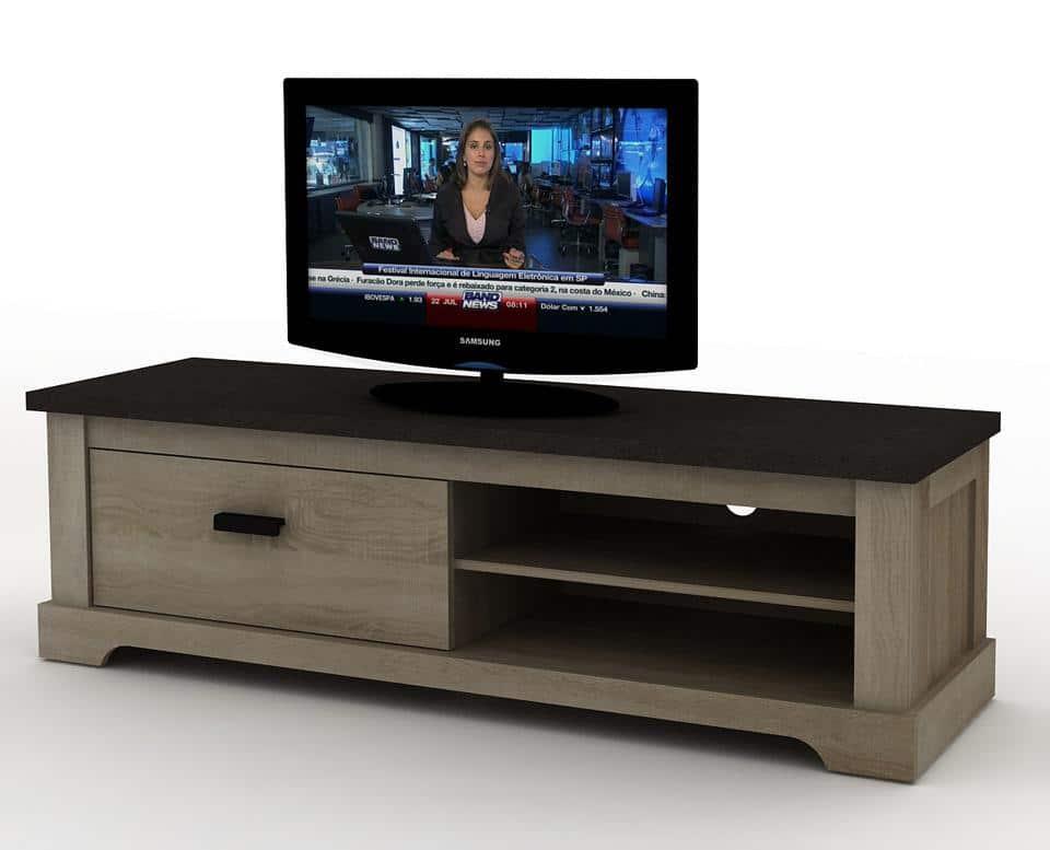 Meuble TV Contemporain 150cm CALGARY Le Dpt Des Docks