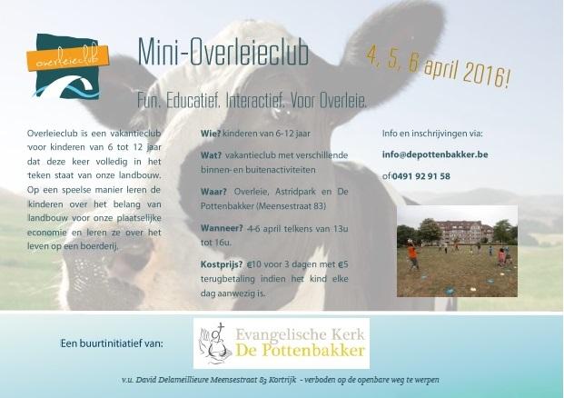 flyer mini overleieclub 2016