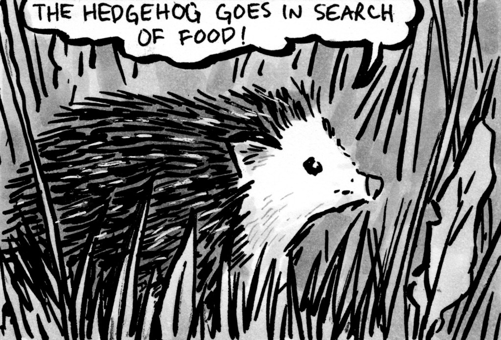 "<span class=""entry-title-primary"">35</span> <span class=""entry-subtitle"">""The Hedgehog""</span>"